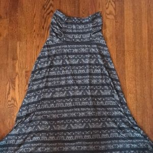 Athleta 2 in 1 maxi skirt and dress